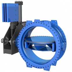 Поворотный затвор VAG EKN® H1200 (Затвор турбинного водовода)